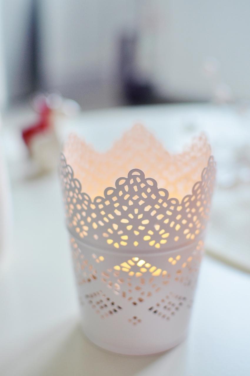 świecznik ażurowy