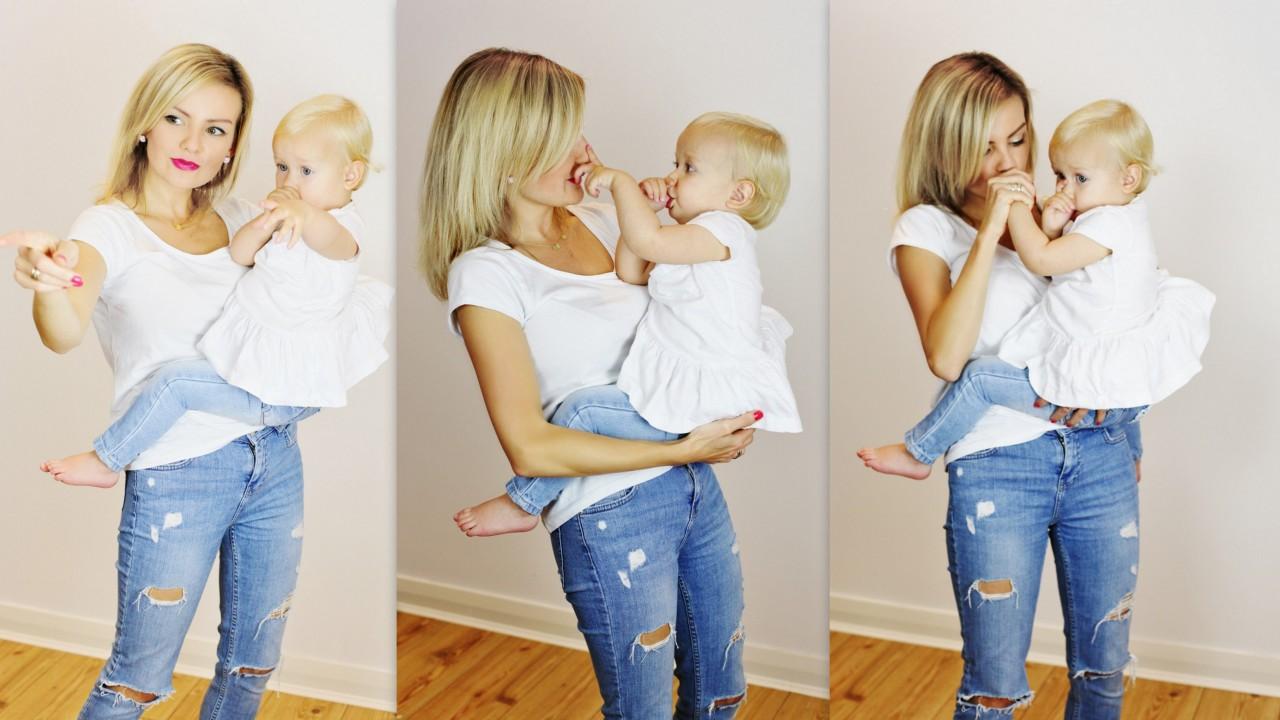 ania zając dziecko jeansy