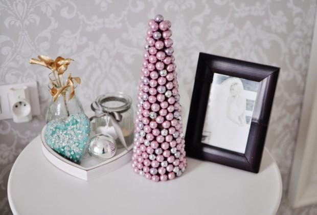 dekoracje świąteczne w sypialni