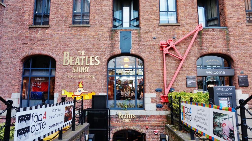 liverpool ceikawe miejsca the beatles story