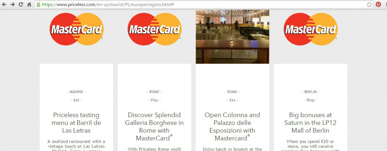 oferty master card