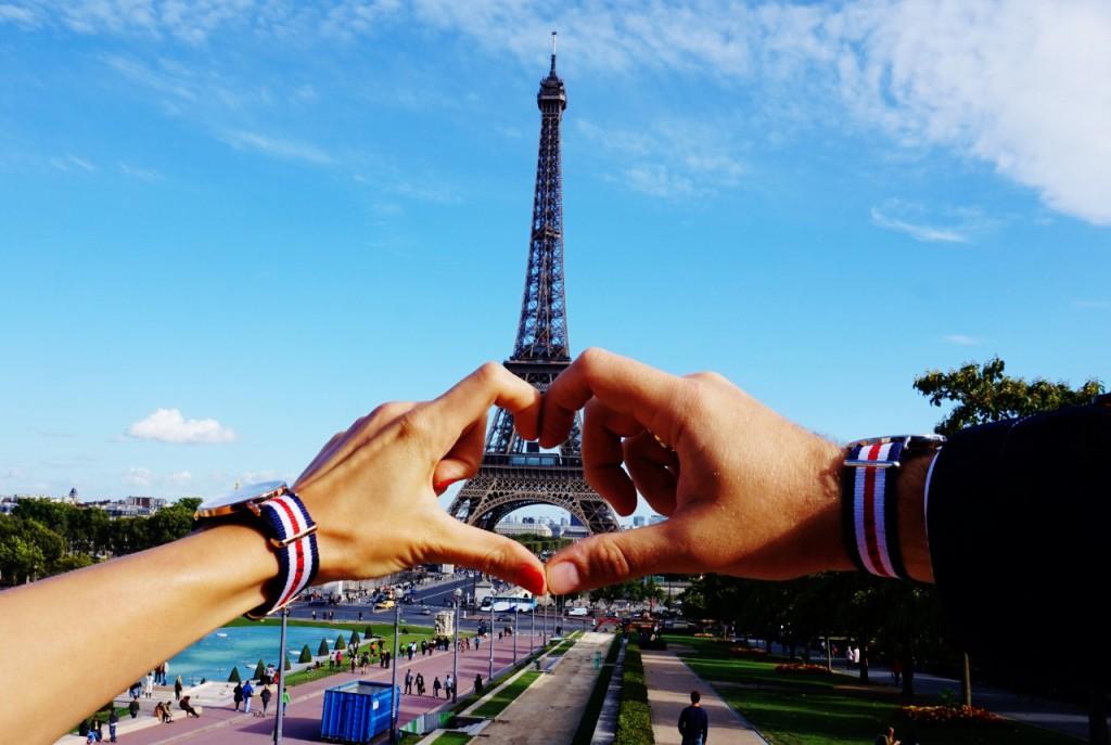 anna zając i jakub zając blog pary małżeński modowy urodowy podróżniczy paryż wieża eiffla