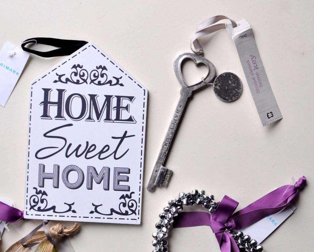 home sweet home dekoracje do domu