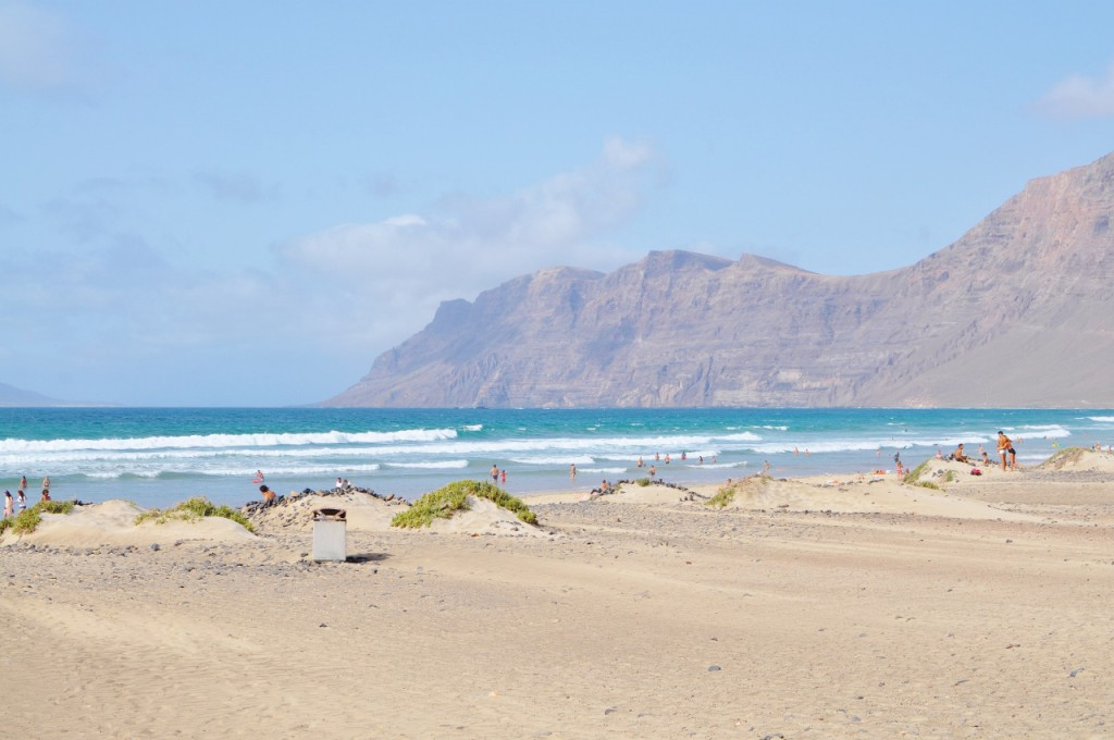 Lanzarote playa Famara blog anna i jakub zając podróże 3