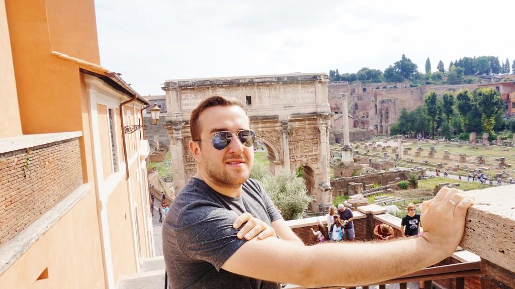 rzym ruiny Forum Romanum
