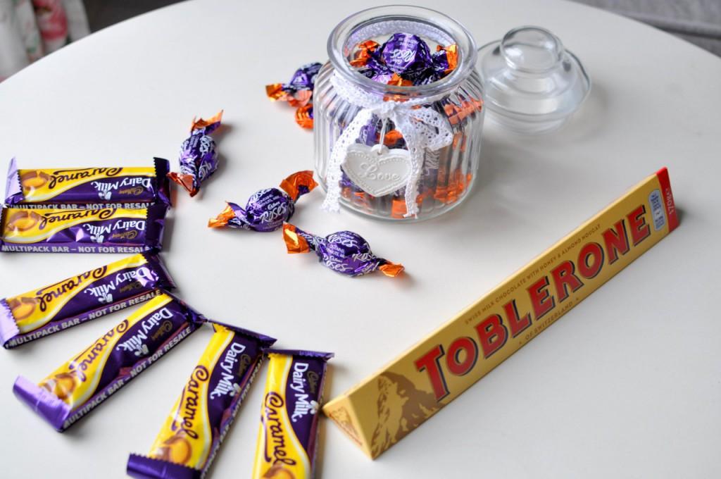 słodycze cadburry z anglii