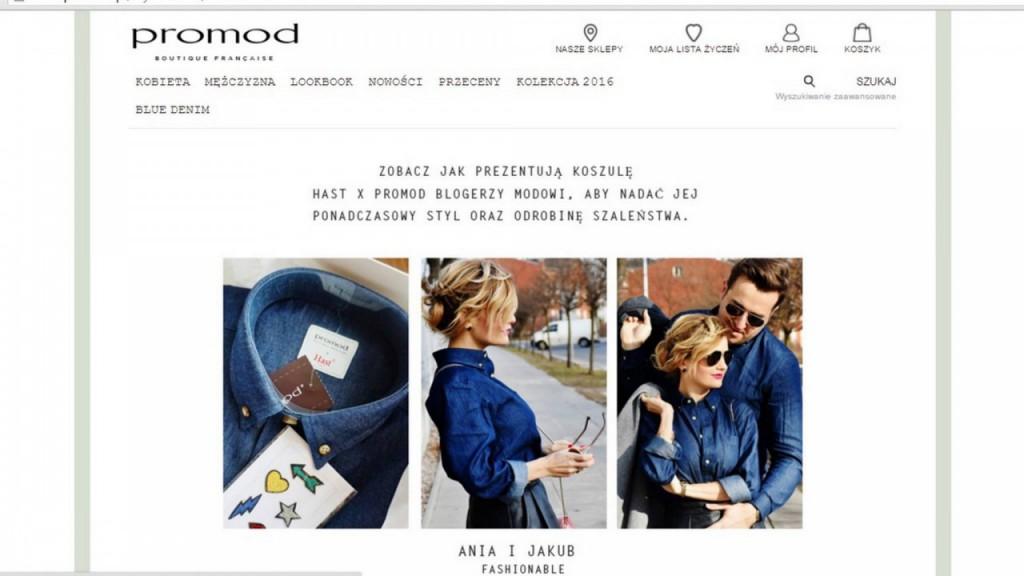 promod koszule hast sttylizacja dla pary anna i jakub zając blog