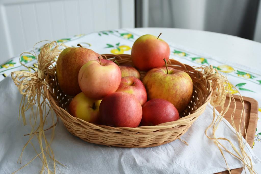 jabłka z kruszonką