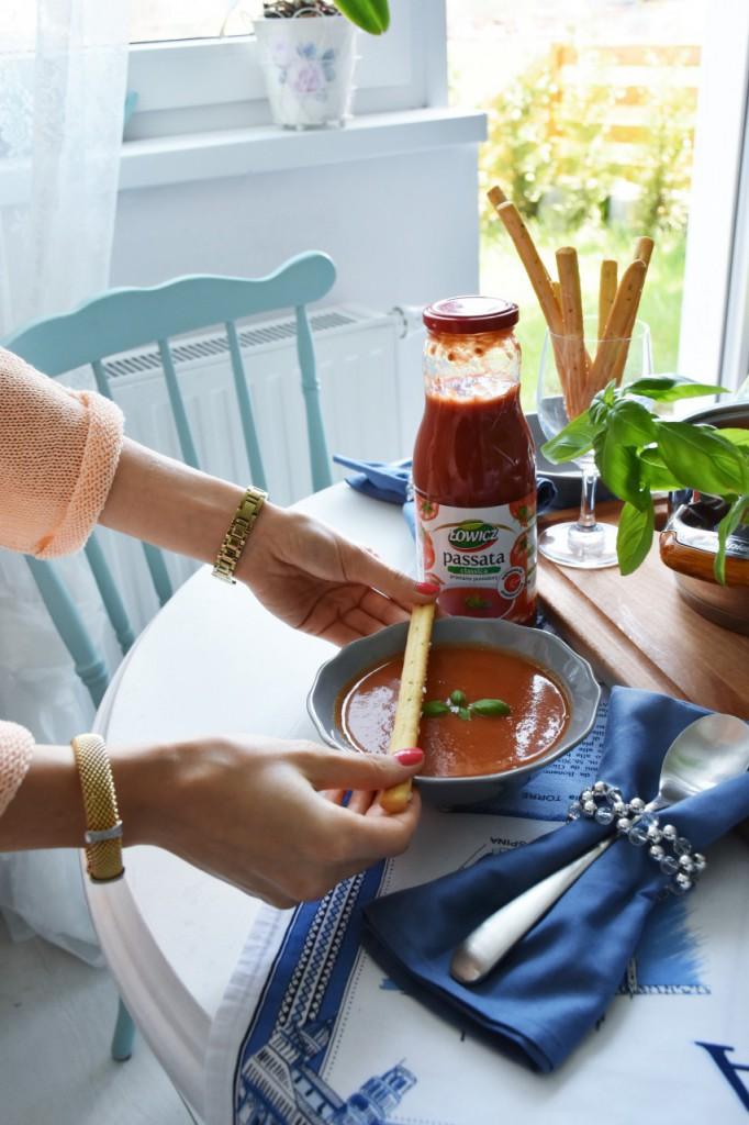 zupa pomidorowa passata Łowicz90