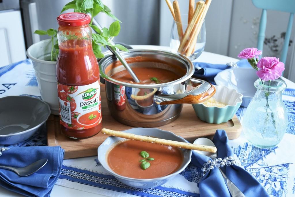 zupa pomidorowa passata Łowicz92
