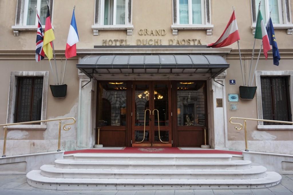 hotel centrum Trieste włóchy italy