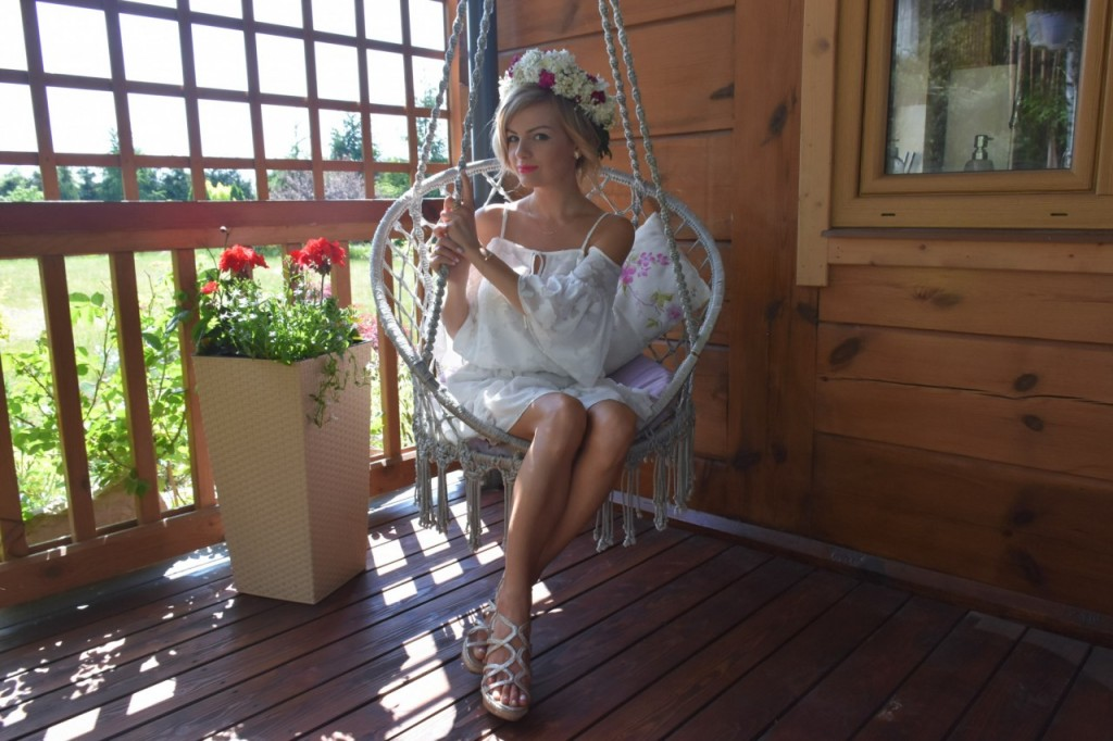 Kruk styl boho rustykalny ślub panna młod11