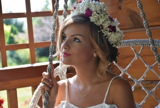 Kruk styl boho rustykalny ślub panna młod19
