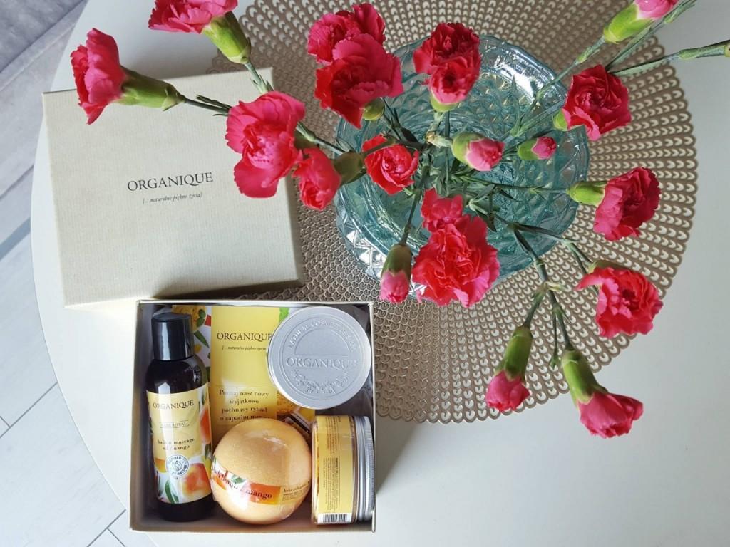 organique pomysł na prezent kosmetyki mango