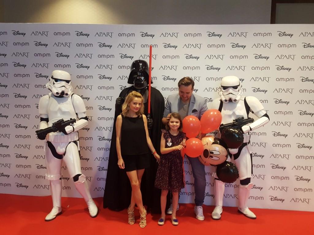 dzień dziecka z Apart gwiezdne wojny blog pary małżeński fashionable ania i jakub