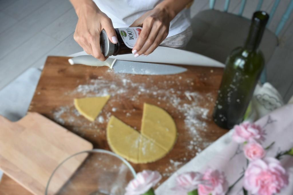 kruche rogaliki z dżemem truskawkowym Łowicz13