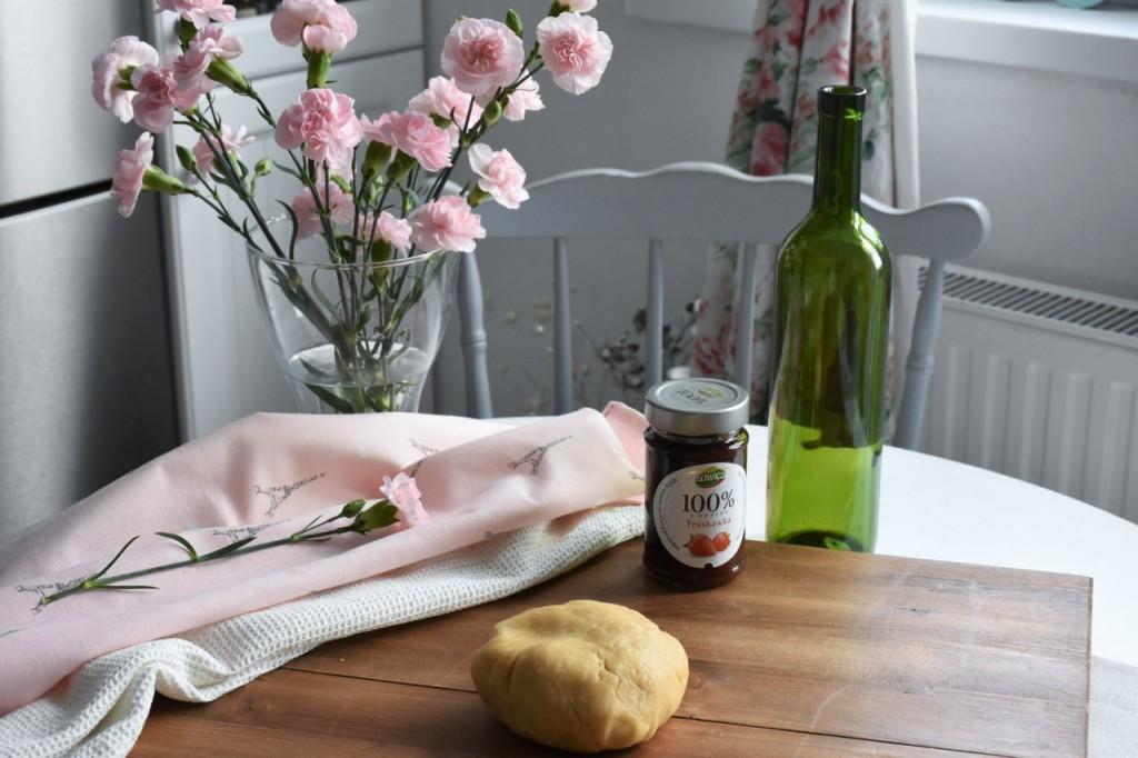 kruche rogaliki z dżemem truskawkowym Łowicz42jpg