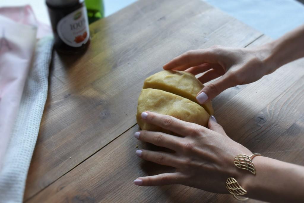 kruche rogaliki z dżemem truskawkowym Łowicz44jpg