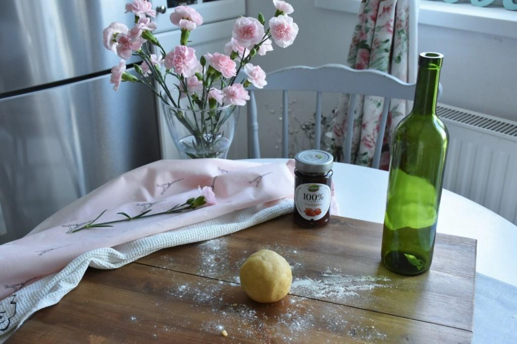 kruche rogaliki z dżemem truskawkowym Łowicz6