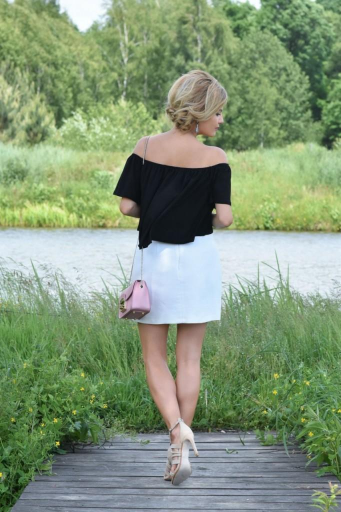 stylizacja Apart biała spódnica artelioni 6
