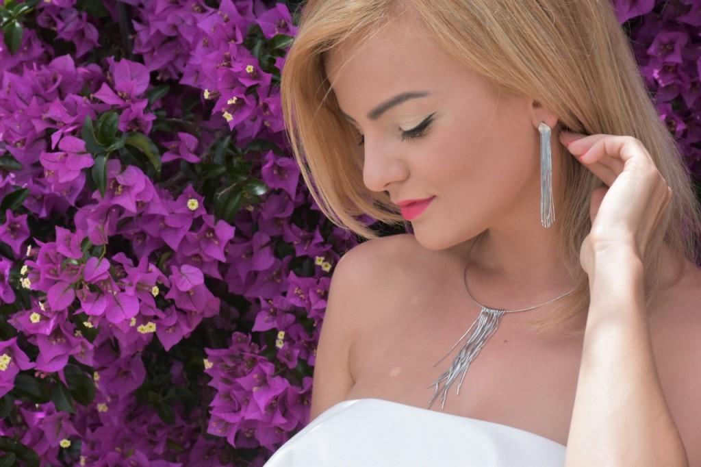 stylizacja nowoczesna panna młoda ślubna biżuteria W.KRUK17