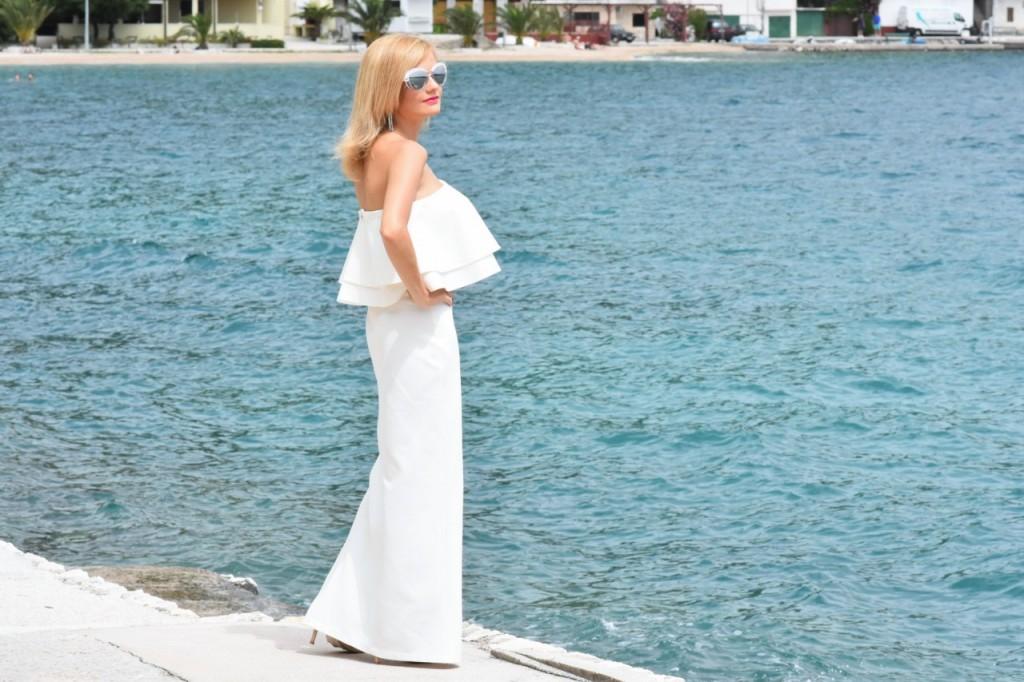 stylizacja nowoczesna panna młoda ślubna biżuteria W.KRUK23