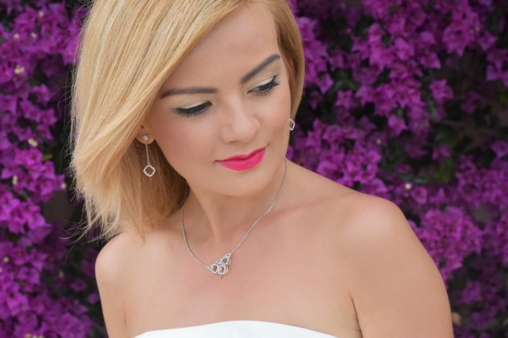 stylizacja nowoczesna panna młoda ślubna biżuteria W.KRUK70pg