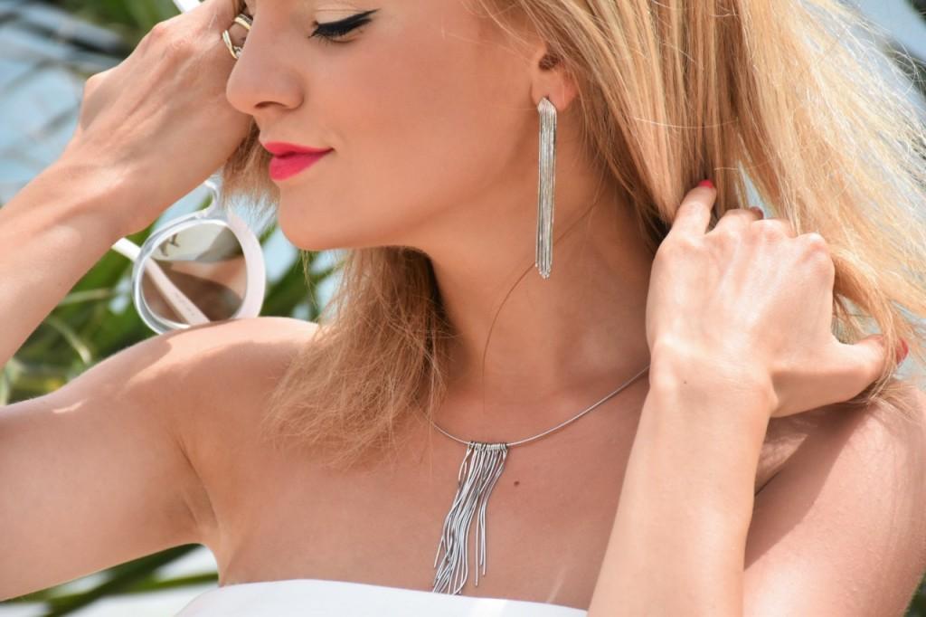 stylizacja nowoczesna panna młoda ślubna biżuteria W.KRUK85pg