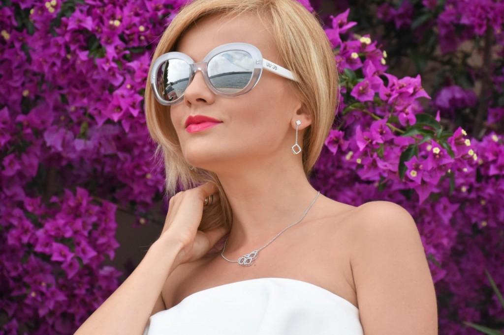 stylizacja nowoczesna panna młoda ślubna biżuteria W.KRUK88pg