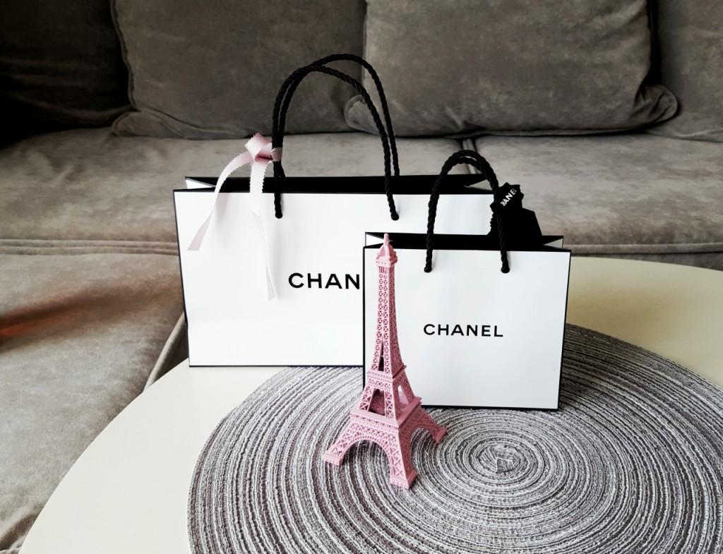 zakupy w paryżu chanel mademoiselle