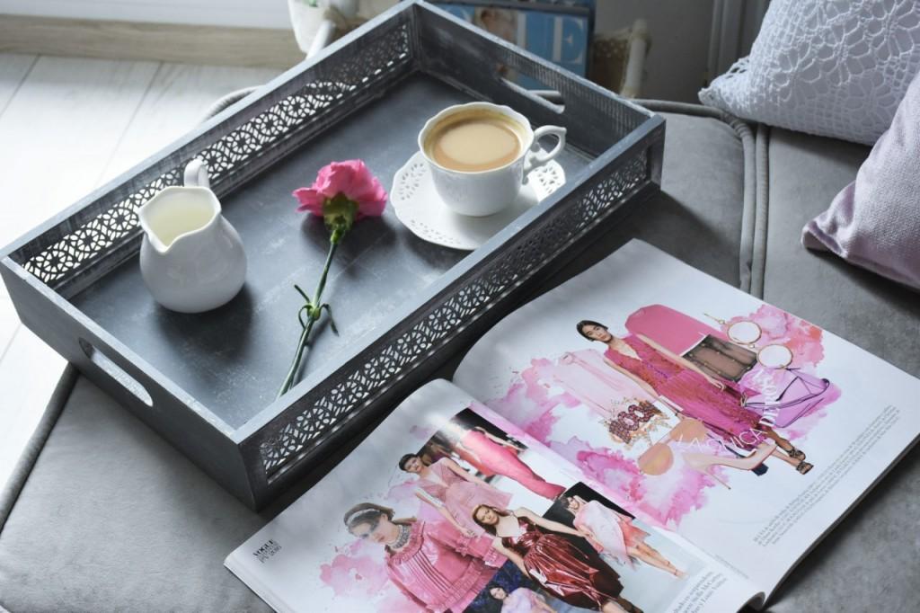 11 taca ozdobna biała filiżanka dekoracje home and you blog wnętrzarski lifestylowy fashionable ania i jakub zając
