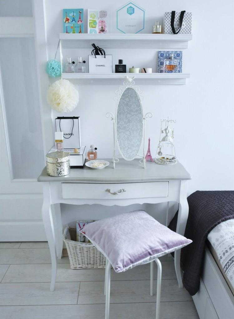 11 toaletka białe mieszkanie dekoracje ania zając blog