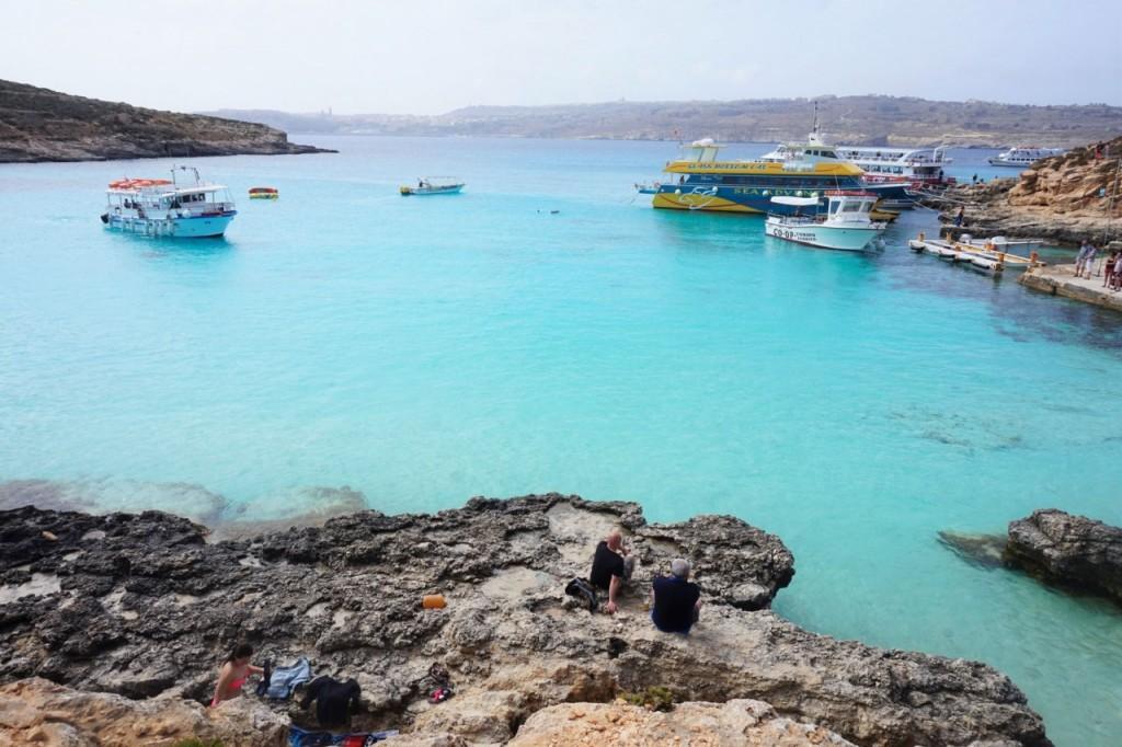blue lagoon malta comina co warto zobaczyć na malcie blog podróżniczy ania i jakub zając