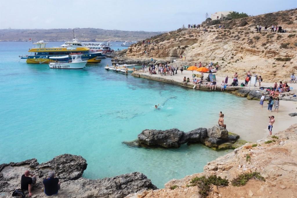 blue lagoon malta comina co warto zobaczyć na malcie blog podróżniczy ania i jakub zając2