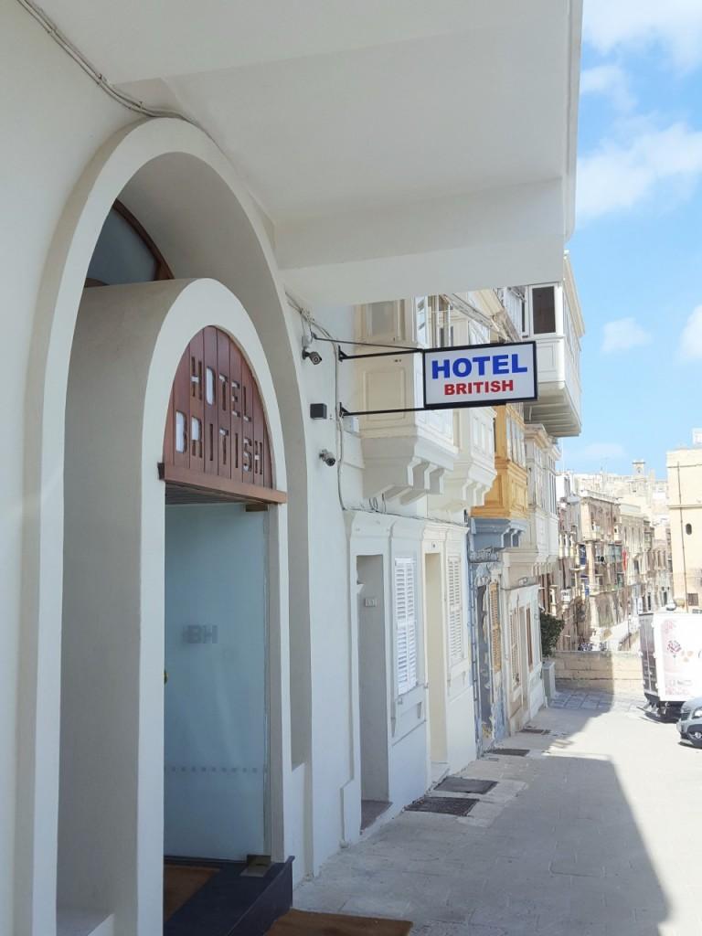 hotel british blog podróże ;lifestyle malta