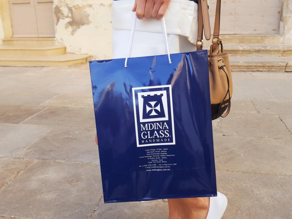 mdina glass szkłoe ceramika co warto kupić na malcie blog podróże lifestyle