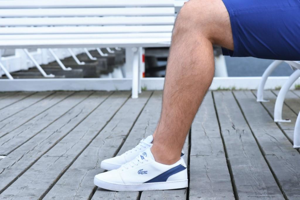 stylizacja męska blog modowy ania i jakub zając buty lacoste