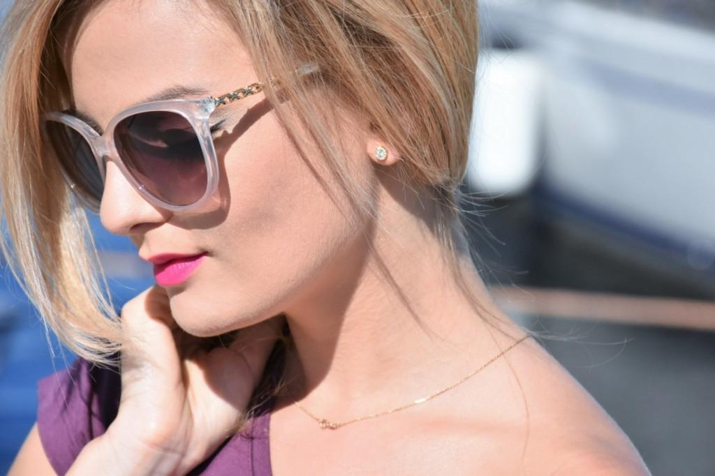 stylizacja okulary oscar de la renta blog modowy36