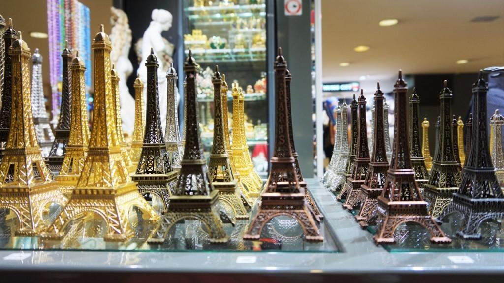 wieża eiffla miniatura