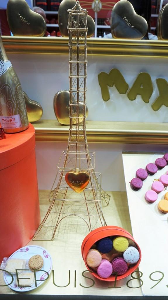 wieża eiffla słodycze