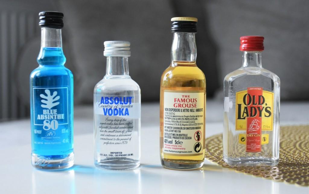 zakupy na malcie miniatury alkoholi