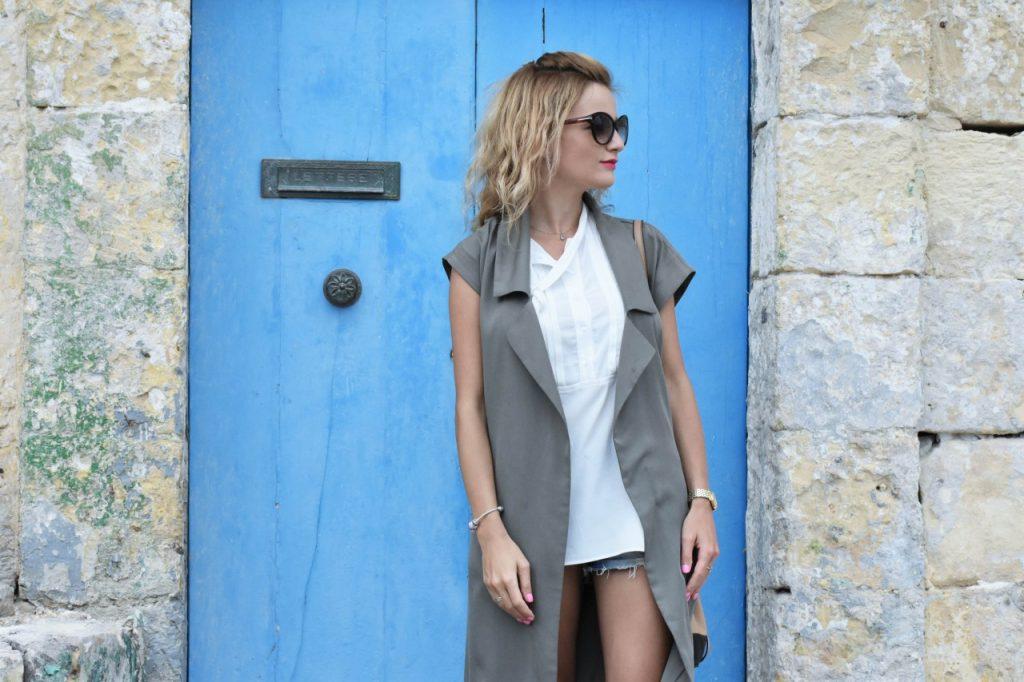 stylizacja-kamizelka-khaki-liu-jo-blog-modowy-lifestyle-malta13
