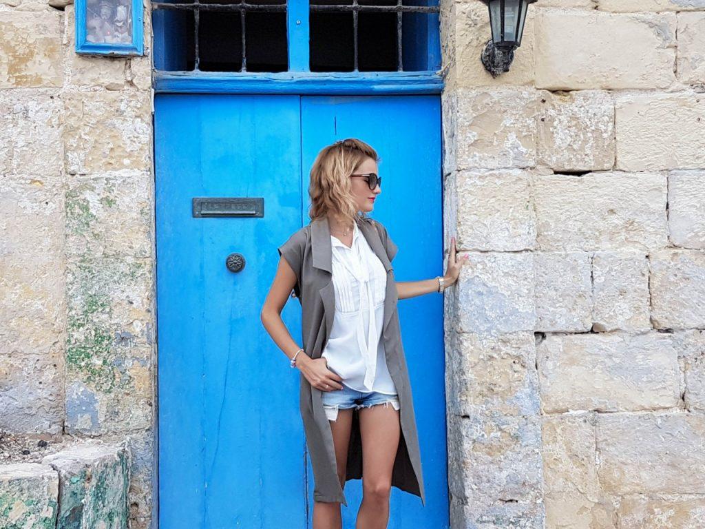 stylizacja-kamizelka-khaki-liu-jo-blog-modowy-lifestyle-malta26
