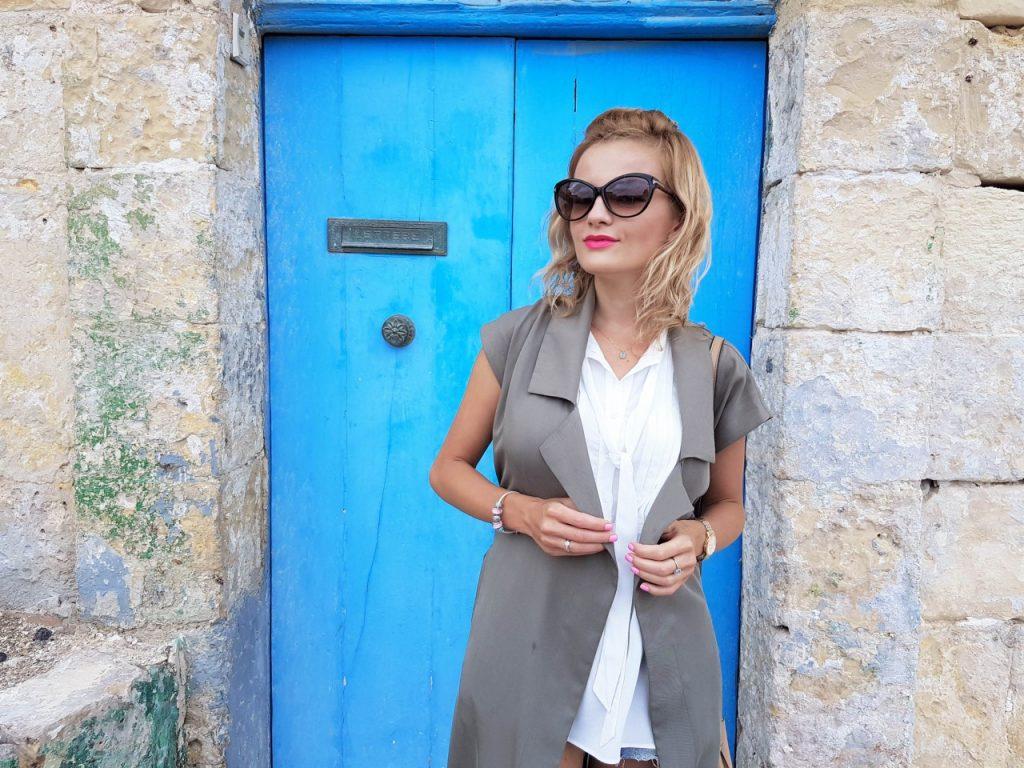 stylizacja-kamizelka-khaki-liu-jo-blog-modowy-lifestyle-malta34