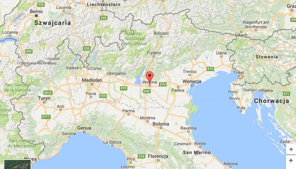 jak daleko jest Werona od Mediolanu blog podróżniczy