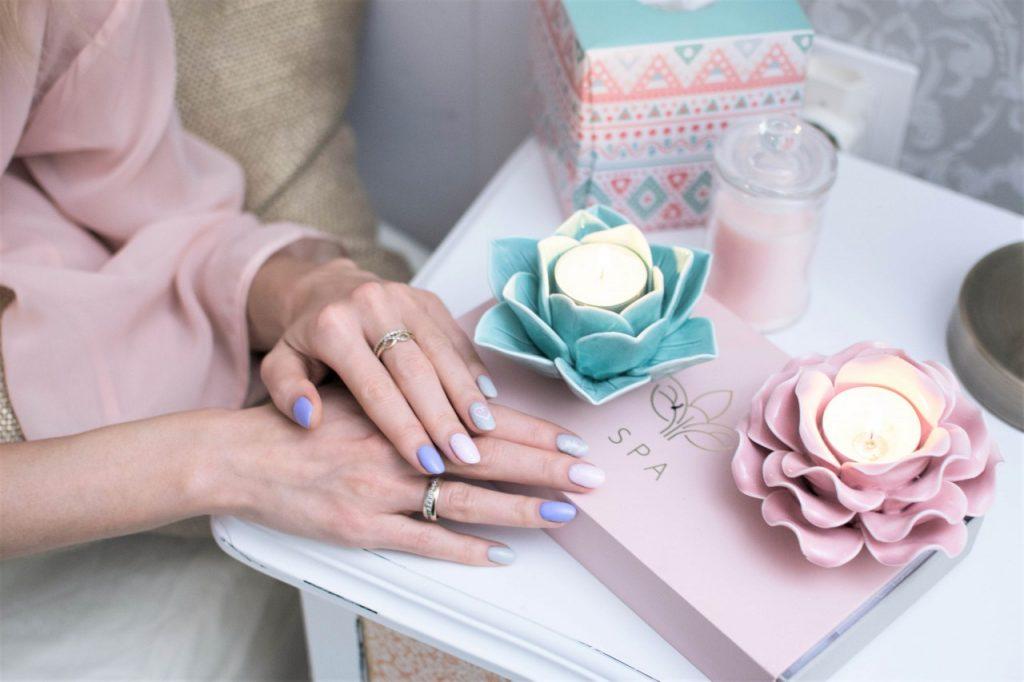manicure hybrdyowy semilac pastele i wzory inspiracje blog urodowy moda6