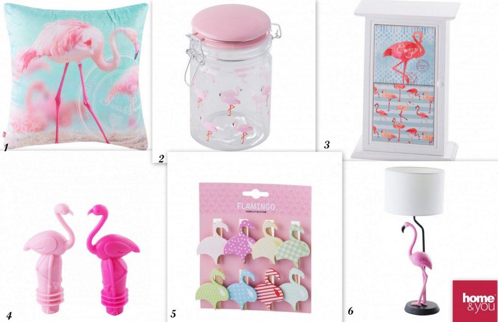 dodatki i gadżety z flamingami