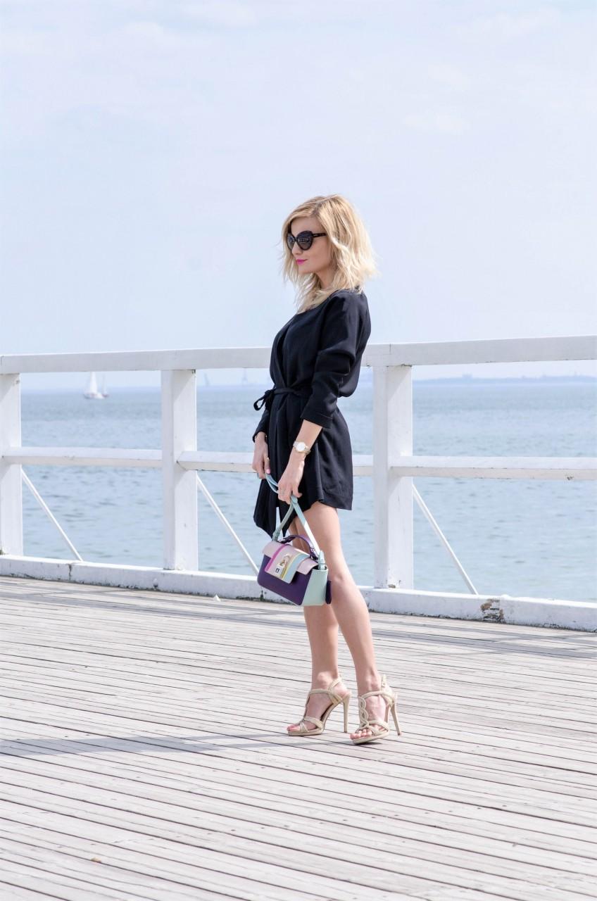 ca86816227f5c Dziś propozycja mojej stylizacji z czarną sukienką. Wiem