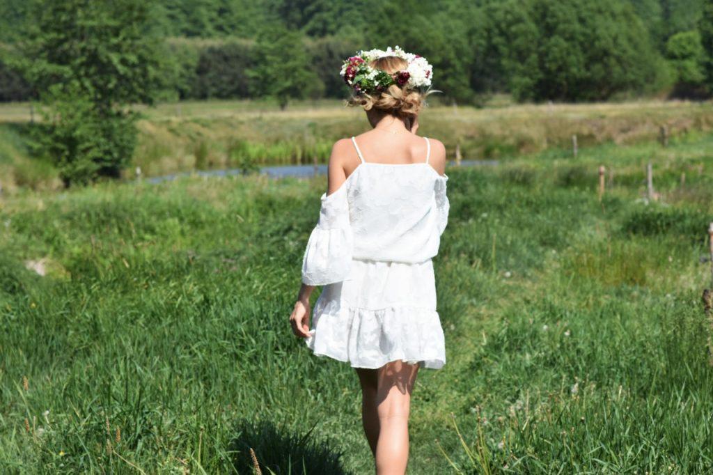 biała sukienka boho 2