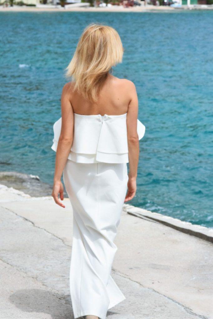 biała sukienka sugarfree gługa wieczorowa3